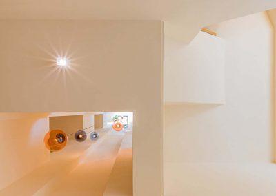 Treppenhaus - Lichtschacht von unten