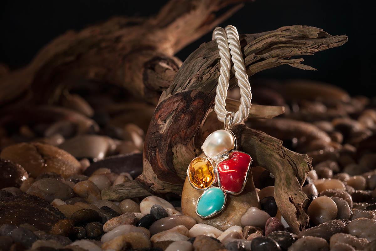 Collier aus La Maddalena Sardinien