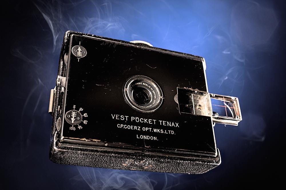 C.P. Goerz Vest-Pocket Tenax (ca. 1910)