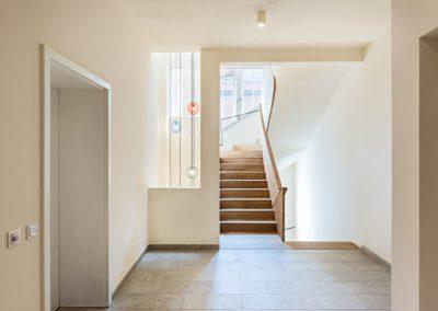 Treppenhaus mit Lichtschacht