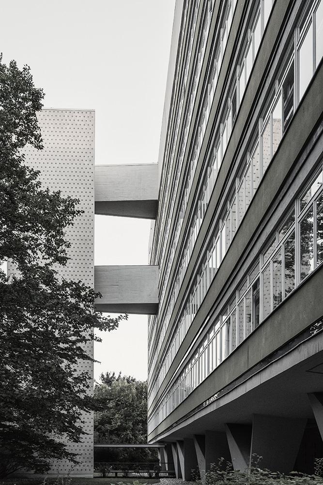 Hansaviertel, Oscar Niemeyer, Berlin Moabit 2018