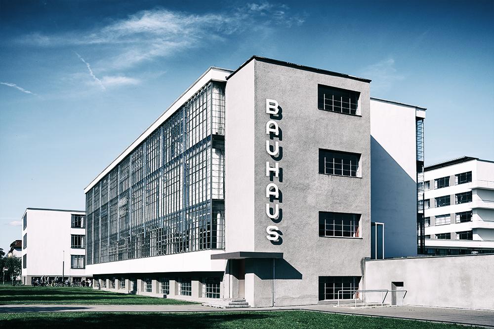 Bauhaus Gebäude von Walter Gropius in Dessau, 2019 - Foto © Dorothea Letkemann